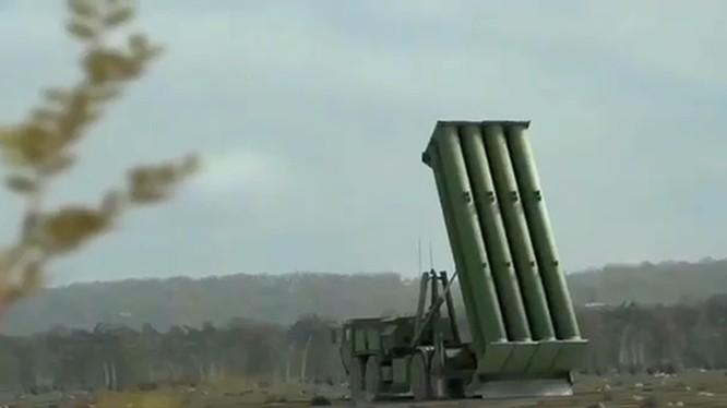 Hệ thống phòng thủ tên lửa chiến trường THAAD - ảnh video Military Today