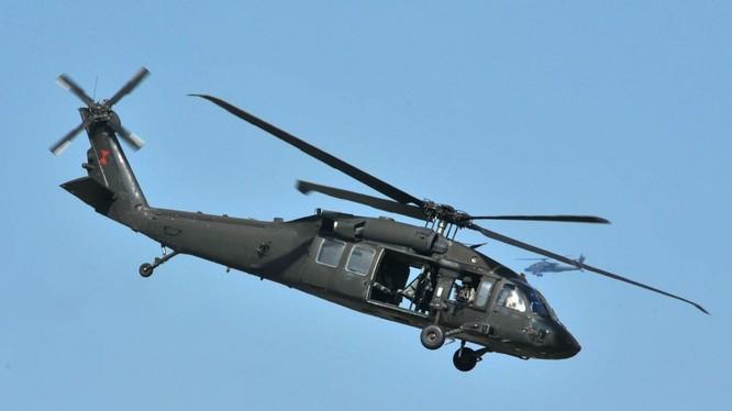 Trực thăng Mỹ trên chiến trường Syria, ảnh minh họa của South Front
