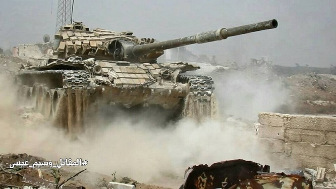 Quân đội Syria tiến công vào quận Jobar - Đông Ghouta - ảnh Masdar News