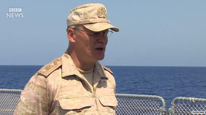 Phát ngôn viên Bộ Quốc phòng Nga, thiếu tướng Igor Konashenkov trả lời phỏng vấn - ảnh video BBC