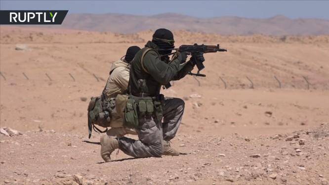 Quân đội Syria tiến công trong vùng hậu phương chiến trường của IS - ảnh minh họa Masdar News