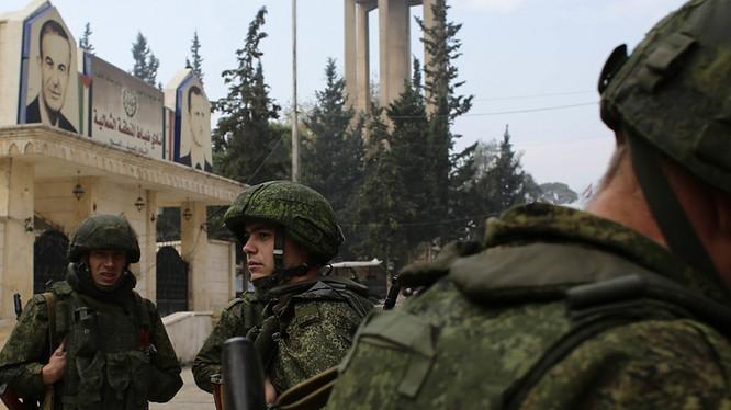 Một nhóm đặc nhiệm Nga trên chiến trường Syria - ảnh minh họa của South Front