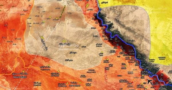 Tình hình chiến sự vùng Raqqa - Deir Ezzor, Tiger đang hình thành vòng vây IS mới - ảnh South Front