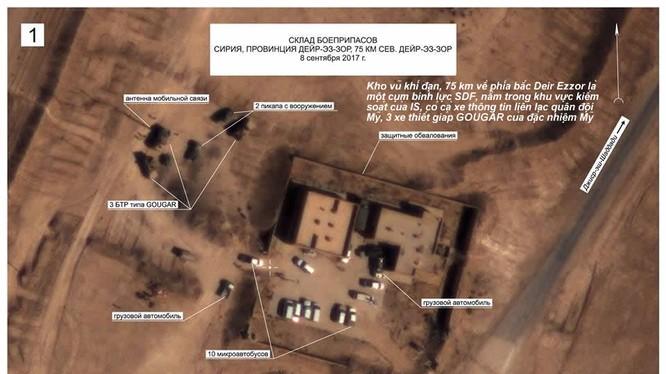 Bức không ảnh tố cáo mối quan hệ đặc biệt giữa đặc nhiệm Mỹ, SDF và IS trên chiến trường Deir Ezzor