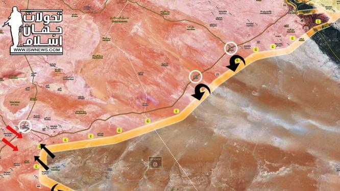 Quân đội Syria đánh lui mọi cuộc tấn công của IS, giành lại tuyến đường M20 đến Deir Ezzor