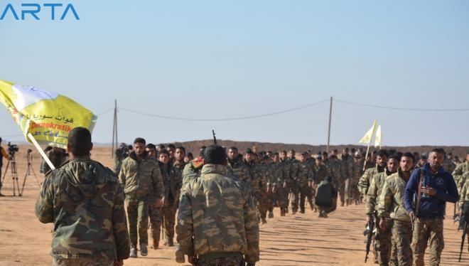Lực lượng DMC (Hội đồng quân sự Deir Ezzor) - ảnh truyền thông Rojava