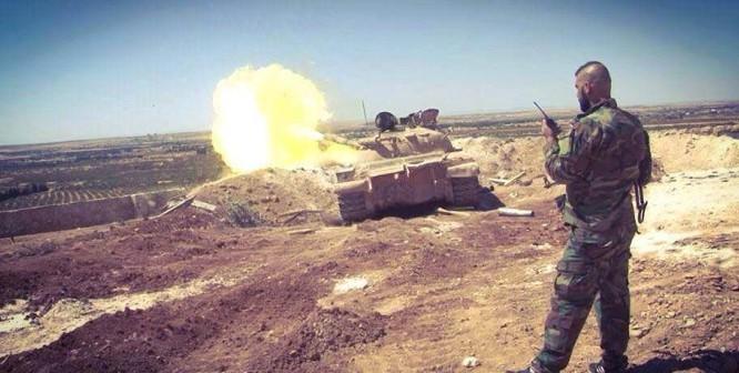 Lực lượng Tiger tấn công trên chiến trường Deir Ezzor - ảnh Masdar News
