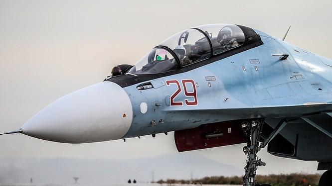 Máy bay chiến đấu không quân Nga - ảnh minh họa TASS