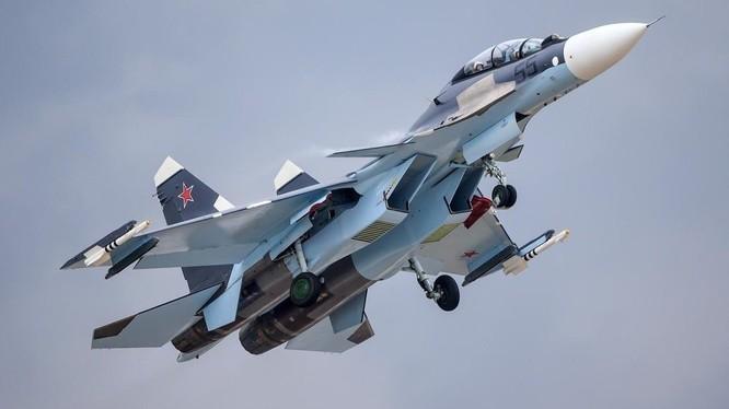 Không quân Nga không kích trên chiến trường Deir Ezzor, ảnh minh họa của South Front