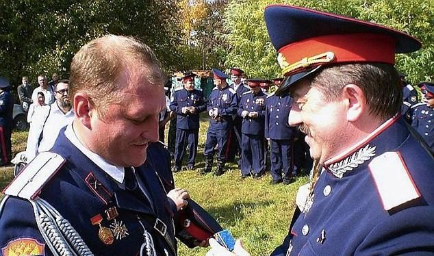 Một lính đánh thuê Nga, từng phục vụ trong quân đội Nga, có tên là Grigory Mikhailovich Surkanov - ảnh Dailymail