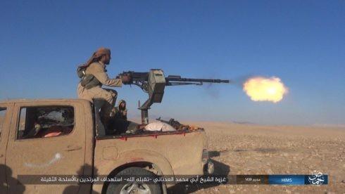 Các tay súng khủng bố IS bất ngờ xuất hiện ở Hama, tấn công Al-Qaeda Syria