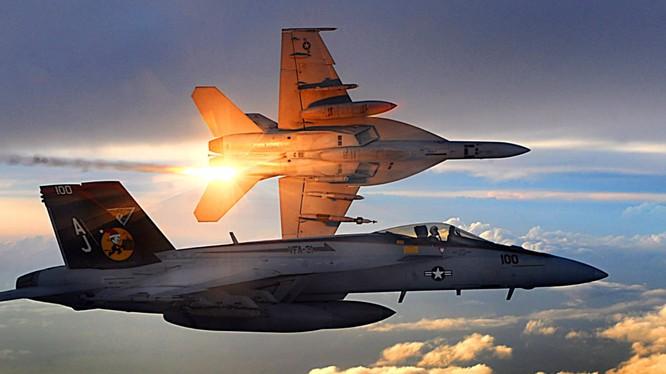 Máy bay chiến đấu Mỹ trên chiến trường Syria - ảnh minh họa của South Front