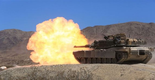 Xe tăng Abram M1A2 SEP quân đội Mỹ, ảnh - Sout.com