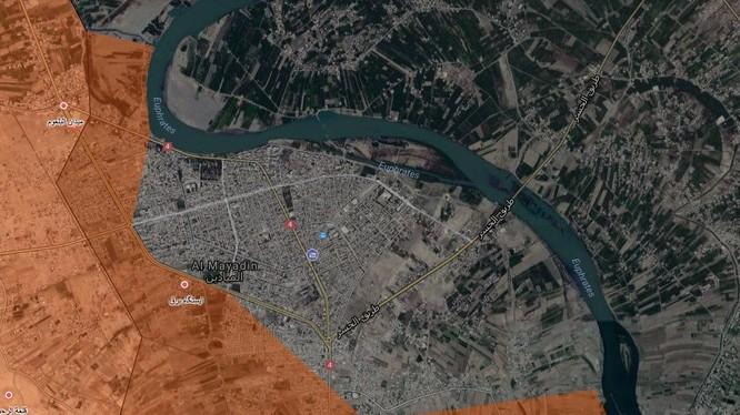 Cuộc tấn công của lực lượng Tiger vào thành phố Mayadeen - ảnh South Front