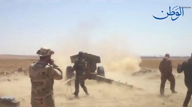 Quân đội Syria tiến công thành phố Al-Mayadeen - ảnh video South Front