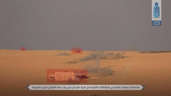 Al-Qaeda Syria tấn công tiêu diệt một số mục tiêu của IS trên miền bắc Hama
