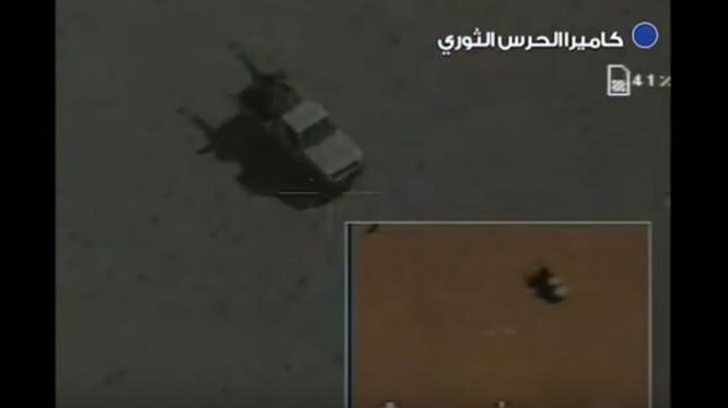 Các mục tiêu bị drones Iran tiêu diệt trên sa mạc Syria - ảnh video