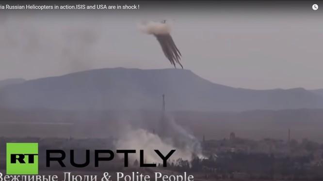 Trực thăng Nga Ka-52 trên chiến trường Syria - ảnh video Viva video