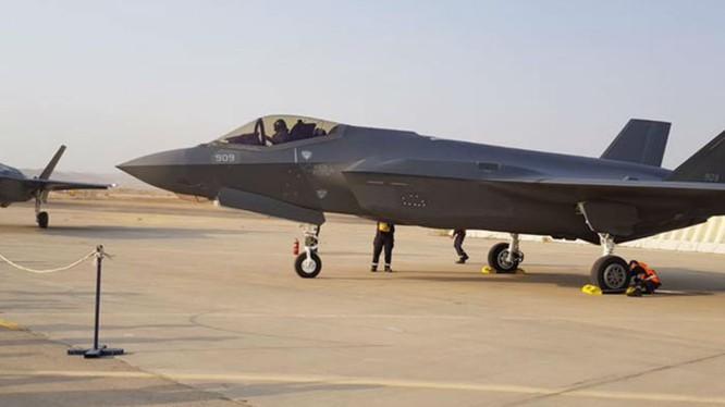 Siêu tiêm kích tàng hình F-35 Adir của không quân Israel, ảnh minh họa trang http://www.kan.org.il