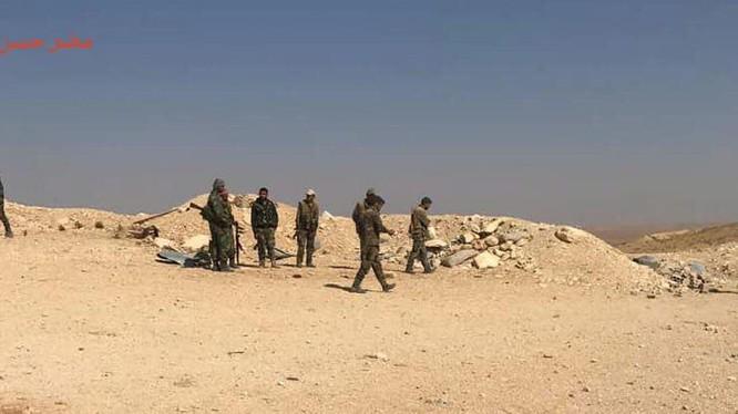 Binh sĩ quân đội Syria giải phóng hơn 300 km2 trên địa phận tỉnh Hama