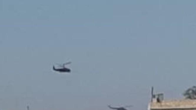 Trực thăng Nga đến căn cứ sân bay Al-Bab do quân Thổ Nhĩ Kỳ kiểm soát