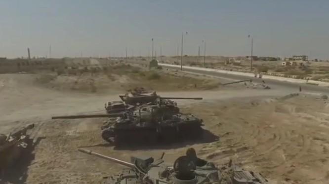 Vũ khí thu được từ IS trong thành phố Mayadeen - ảnh video R&U