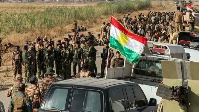 Các đơn vị Bảo vệ Nhân dân YPG, chủ lực của lực lượng SDF ở Syria - ảnh Kurdistan
