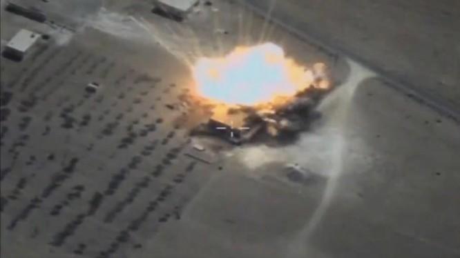 Tên lửa Kalibr phá hủy mục tiêu của IS trên chiến trường Deir Ezzor - ảnh minh họa Muraselon