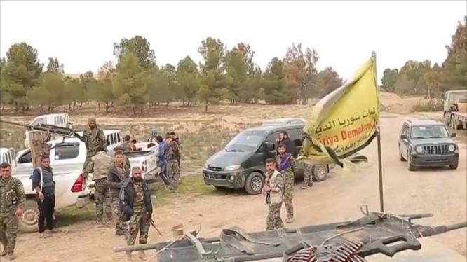 Lực lượng SDF trên chiến trường Deir Ezzor, ảnh minh họa South Front