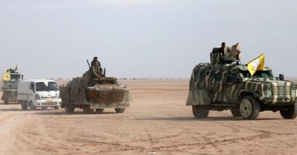 Lực lượng SDF tiến công trên vùng nông thôn thành phố Deir Ezzor - ảnh Masdar News