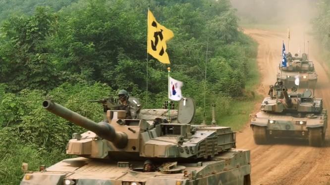 Quân đội Hàn Quốc diễn tập - ảnh minh họa từ video truyền thông quân đội Hàn Quốc