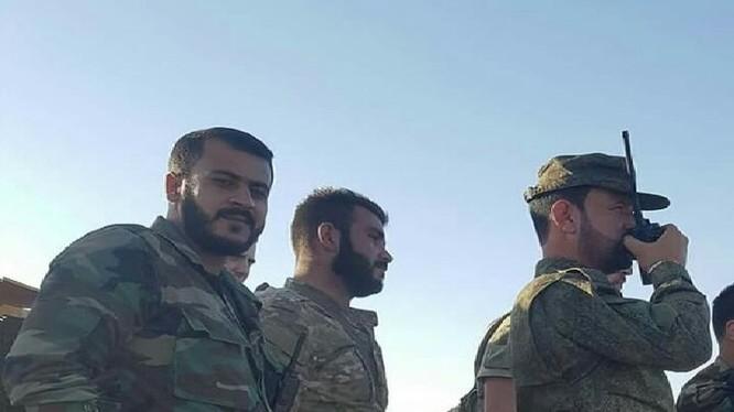 Thiếu tướng Suheil al-Hassan, tư lệnh trường lực lượng Tiger triển khai chiến dịch - ảnh minh họa Masdar News