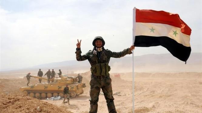 Binh sĩ quân đội Syria - ảnh minh họa Masdar News