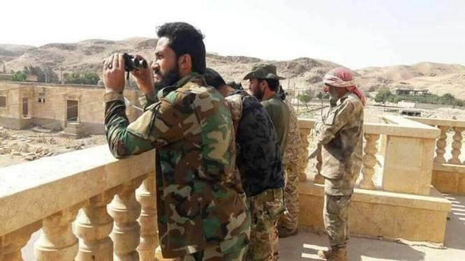 Binh sĩ quân đội Syria ở Deir Ezzor - ảnh minh họa Muraselon