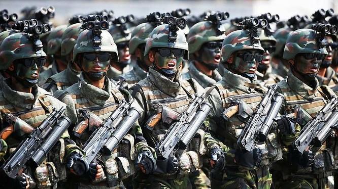 Lực lượng đặc nhiệm Bắc Triều Tiên - ảnh minh họa của Rusvesna