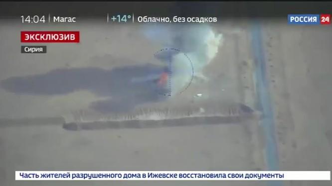 Không quân Nga không kích IS trên chiến trường Deir Ezzor - ảnh video Kênh 24 Nga
