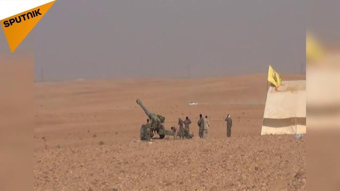 Pháo binh quân đội Syria tập kích vào thị trấn chiến lược này - ảnh minh họa Masdar News