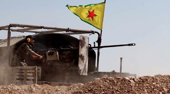 Lực lượng SDF, chủ công là các đơn vị dân quân người Kurd tấn công dọc bờ sông Euphrates - ảnh minh họa South Front