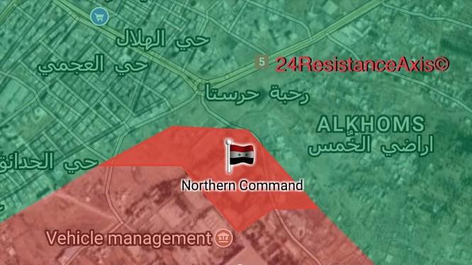 Quân đội Syria, chủ công là lực lượng Vệ binh Cộng hòa tiến công trong khu vực Đông Ghouta - ảnh South Front