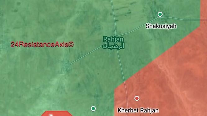 Bản đồ tình hình chiến sự Hama, quân đội Syria giải phóng thêm 1 ngôi làng ở Hama - ảnh South Front