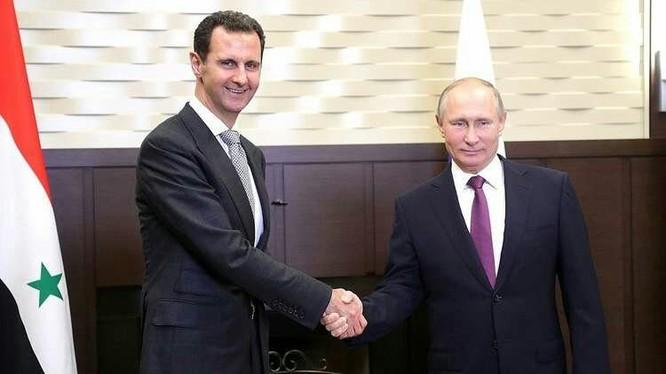 Cuộc gặp giữa Tổng thống Nga Vladimir Putin và người đồng nhiệm Syria Bashar al-Assad ở Sochi - ảnh video