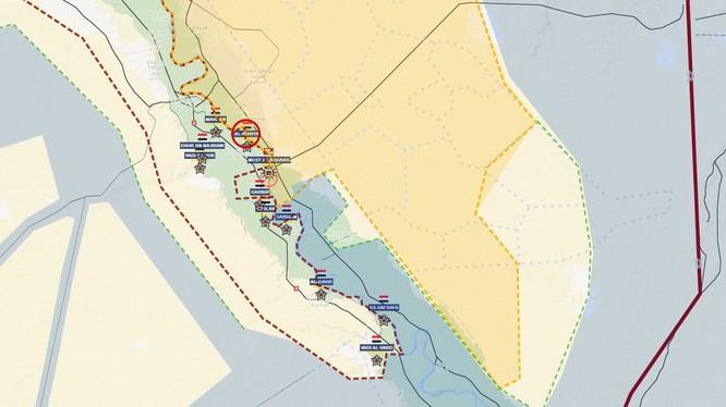 Bản đồ tình hình chiến sự thung lũng phía tây sông Euphrates - anh Muraselon