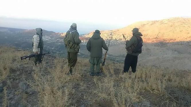 Binh sĩ lực lượng vũ trang địa phương NDF trên cao nguyên Golan - ảnh minh họa South Front
