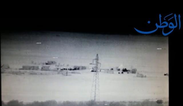 Ảnh video minh họa của Al-Masdar News
