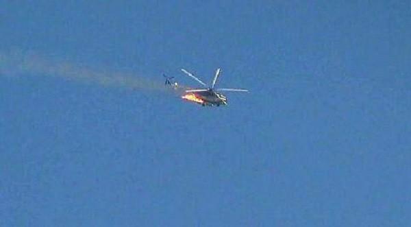 Trực thăng quân đội Syria gặp tai nạn trên cao nguyên Golan - ảnh South Front