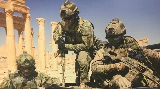 Đặc nhiệm Nga trong chiến dịch giải phóng thành cổ Palmyra lần 2 - ảnh minh họa South Front
