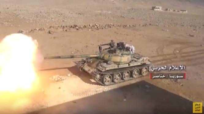 Quân đội Syria pháo kích dữ dội chiến tuyến phiến quân ở Hama - ảnh video minh họa Hezbollah