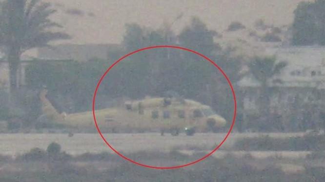 Chiếc trực thăng Ai Cập, bị phá hủy trong cuộc tấn công - ảnh video South Front