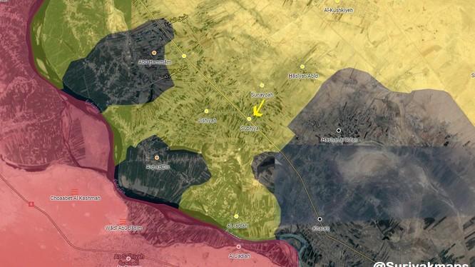 Lực lượng SDF tiến chiếm làng Subhiya - ảnh minh hỏa South Front