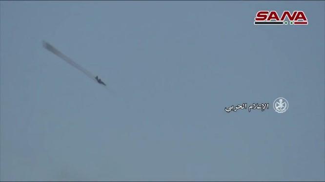 Không quân Nga không kích ác liệt vùng nông thôn tỉnh Idlib - ảnh SANA